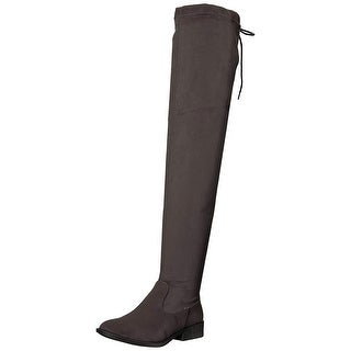 Qupid Women's Vinci-49XX Over The Knee Boot
