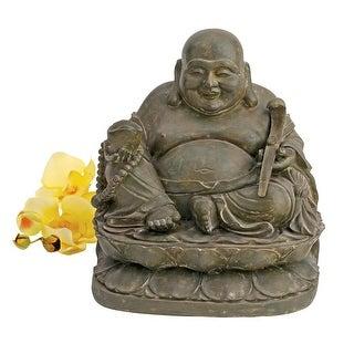 Design Toscano Laughing Buddha Sanctuary Statue