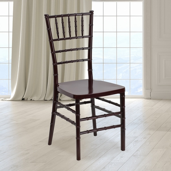Resin Stacking Chiavari Chair - Hospitality and Event Seating. Opens flyout.