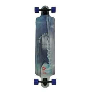 Awaken Surf 41.5 inch Drop Down 9 Ply Canadian Maple Longboard - Blue