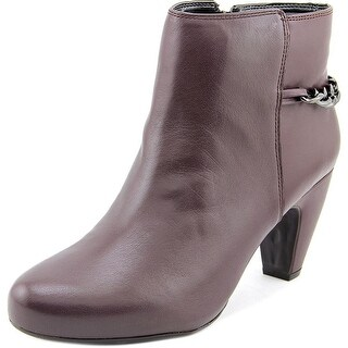 Easy Spirit Womens Parilynn Leather Closed Toe Ankle Fashion Boots