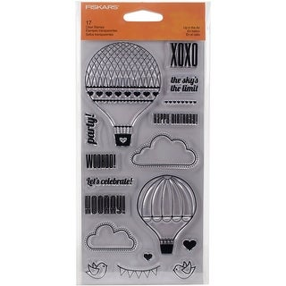 "Fiskars Clear Stamp 4""X8""-Up In The Air"