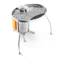 BioLite GRA Portable Grill for Camp & Cook Stove, Stainless Steel