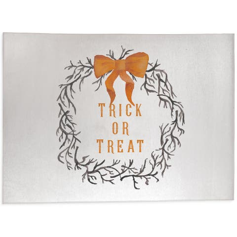 TRICK OR TREAT Outdoor Mat By Kavka Designs