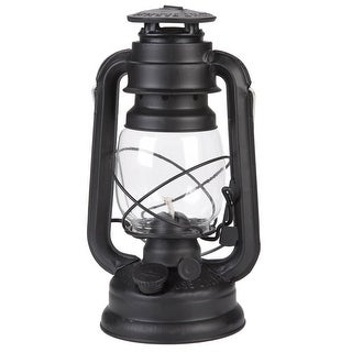 Lamplight 52664 Farmers Oil Lantern, Black