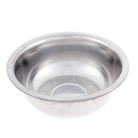 "Kitchen Stainless Steel Salad Fruit Vegetables Dinner Bowl 6"" Dia"