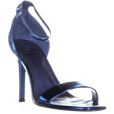 Guess Celie3 Square Toe Evening Sandals, Medium Blue - 6.5 us