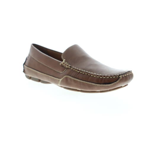 Izod Burney Tan Smooth Mens Loafers & Slip Ons Casual