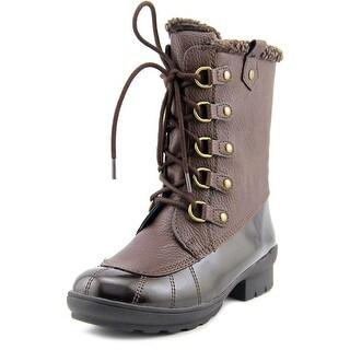 A2 By Aerosoles Barricade Women Round Toe Synthetic Brown Winter Boot