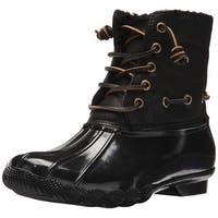 Steve Madden Womens Torrent Closed Toe Ankle Rainboots