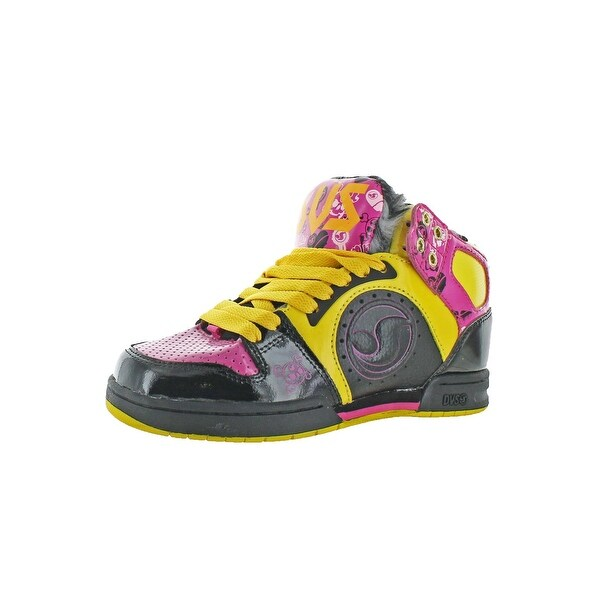 DVS Womens Aces High Skate Shoes Faux Fur Lined Hightop