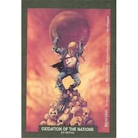 Oxidation Of The Nations Artwork Sticker Card Ed Repka,