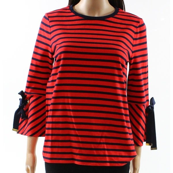 7f92a7f87a6d94 Shop Lauren by Ralph Lauren Womens Large Striped Knit Top - Free Shipping  On Orders Over  45 - Overstock.com - 26982773