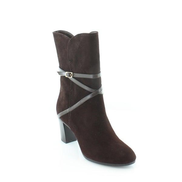 Isaac Mizrahi Live! Scooter Women's Boots Chocolate - 5
