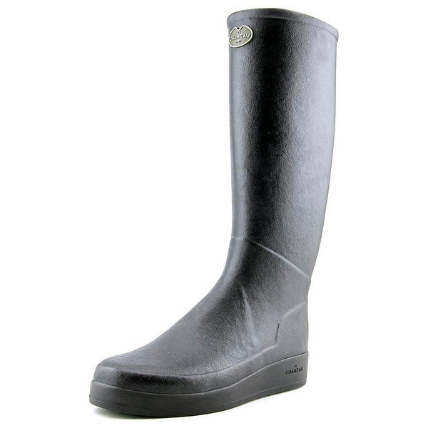 Le Chameau BTE Paris J Fe Women Round Toe Synthetic Rain Boot