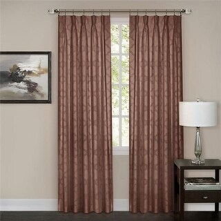 Achim Importing WNPP63MS06 Windsor Pinch Pleat Panel 34 x 63 - Marsala