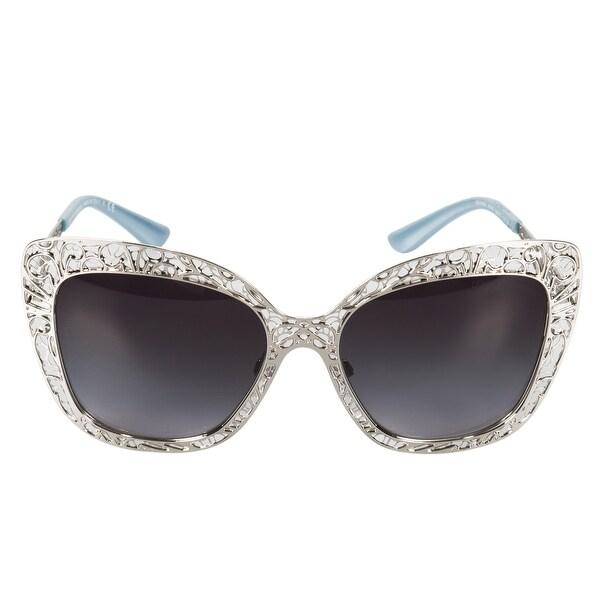 94cc332e0784 Shop Dolce   Gabbana Butterfly Sunglasses DG2164 05 8G 56 - Free ...