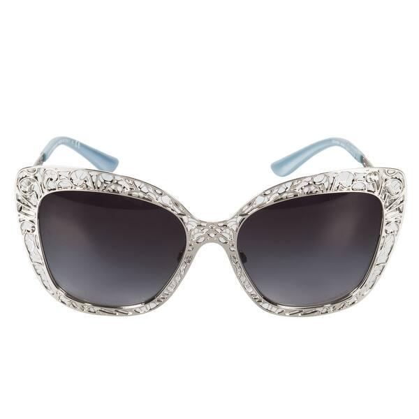 5bc354eeace5 Shop Dolce & Gabbana Butterfly Sunglasses DG2164 05/8G 56 - Free ...