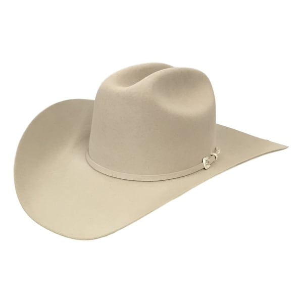 Shop Stetson Cowboy Hat Mens 5X Lariat Silverbelly - Free Shipping Today -  Overstock - 15444651 a8a46ae8e48c