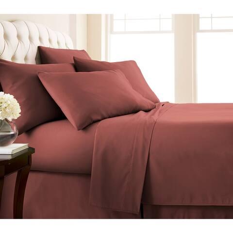 No-Slip Ultra-Soft Deep Pocket 6-piece Bed Sheet Set
