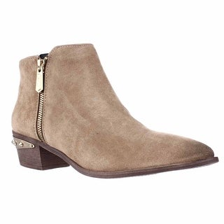 Circus by Sam Edelman Holt Spiked Heel Ankle Boots - Camel