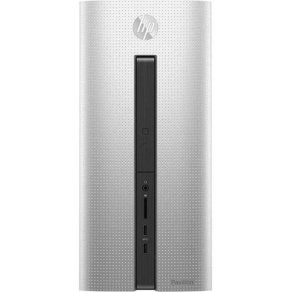 Refurbished - HP Pavilion 560-P015HVR Desktop Intel Core i5-6400 2.7GHz 8GB 1TB 128GB SSD W10
