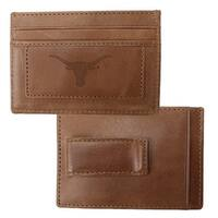University of Texas Credit Card Holder & Money Clip