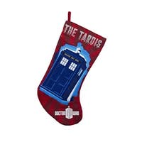"Doctor Who TARDIS 19 Applique Stocking"""