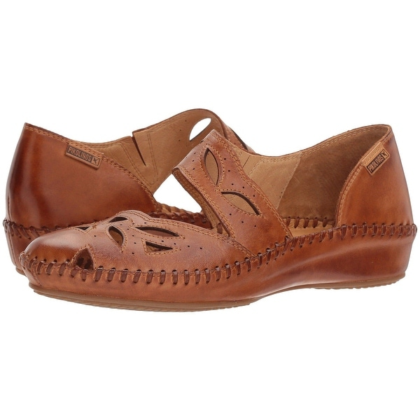 Shop Pikolinos Womens Puerto Vallarta Leather Closed Toe Casual