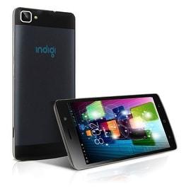 Indigi® V19 Factory Unlocked 3G GSM+CDMA 5.5inch HD Android 4.4 KitKat Dual-Core Dual-Sim Smartphone (Black)