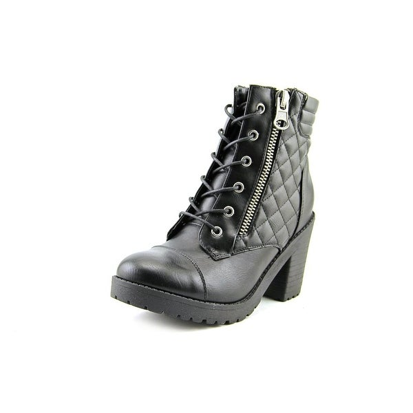 Rampage Harrison Women Round Toe Synthetic Black Ankle Boot