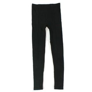 Me Moi NEW Black Solid Women's Size Medium S/M Leggings Stretch Pants
