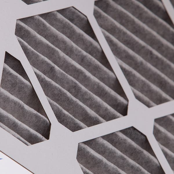 Nordic Pure 14x20x1 MERV 8 Pure Carbon Pleated Odor Reduction AC Furnace Air Filters 6 Pack
