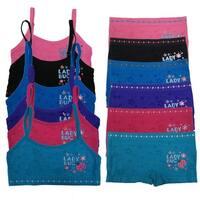 "Girl's 6 Pack Seamless ""Lady Bug"" Print Underwear Set"