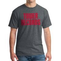 Tower Records Vintage Stack Men's Dark Heather T-shirt