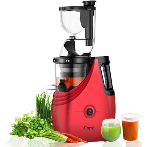 Caynel Vertical Compact Cold Press Slow Masticating Juicer
