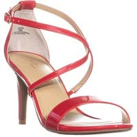 TS35 Darria2 Strappy Dress Sandals, Red