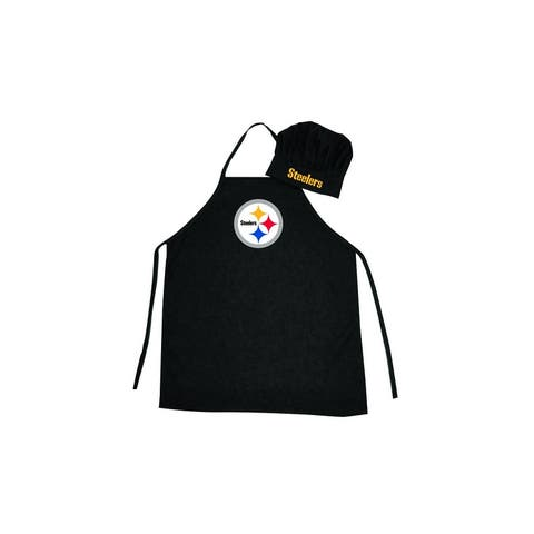 Pittsburgh Steelers Apron and Chef Hat Set