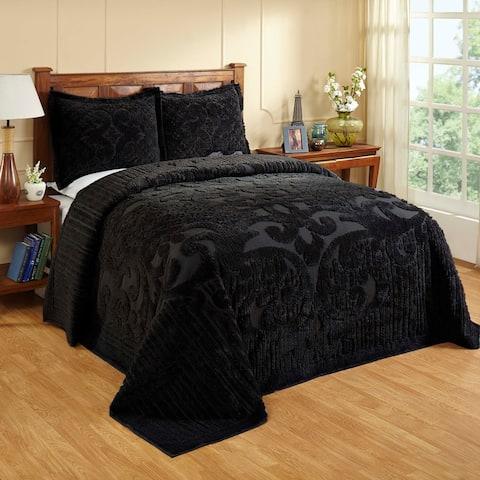 Better Trends Ashton 100% Cotton Tufted Medallion Design Bedspread Set