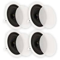"Theater Solutions CS8C In Ceiling 8"" Speakers Home Theater 2 Pair Pack 2CS8C"