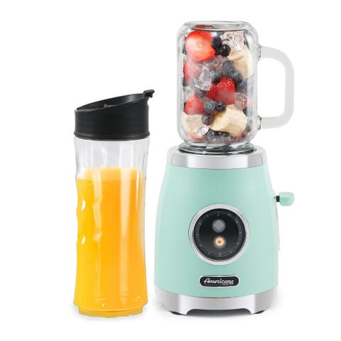 Americana by MaxiMatic Retro Personal Blender Mint