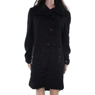 Link to Soia & Kyo Womens Coats Black Size Large L Wide-Lapel Three-Button Similar Items in Women's Outerwear