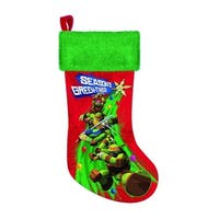 Teenage Mutant Ninja Turtles 19 Printed Stocking""