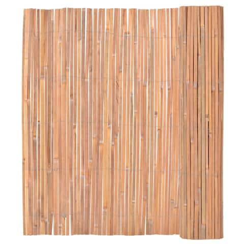 vidaXL Bamboo Fence 4.9'x13.1'