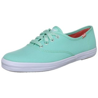 Keds Women's Champion Seasonal Brights Fashion Sneaker - Teal - 8 b(m) us