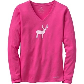 Legendary Whitetails Ladies Lazy Day V-Neck Lounge Top