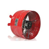 QuietCool AFG PRO-3.0 3013 CFM Professional Attic Fan from the Specialty Series - Red