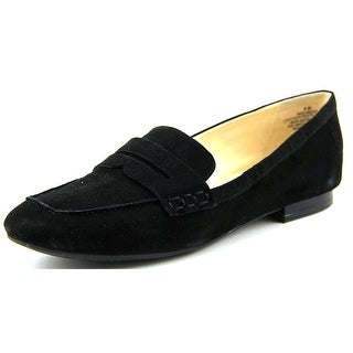 Nine West Linear Round Toe Suede Loafer