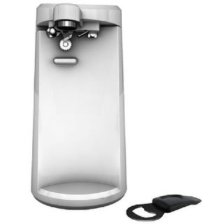 Black & Decker EC500W Auto Off Extra Tall Electric Can Opener, White