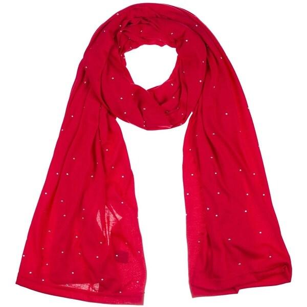 Women's Jersey Rhinestones scarves long plain scarf wrap shawls hijab. Opens flyout.